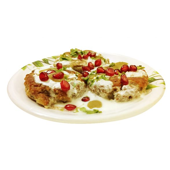 Aloo Tikki Chat 2pc